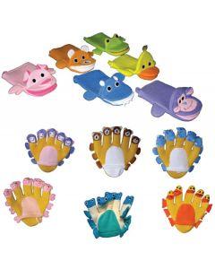 Aqua Pals Hand and Glove Puppets 12pcs