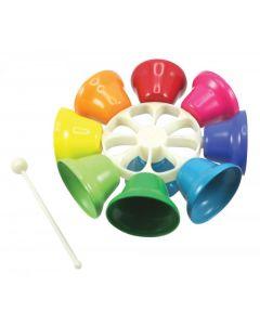 Spinning Rainbow Bells