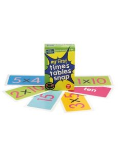 Snap Cards My First Times Tables Snap