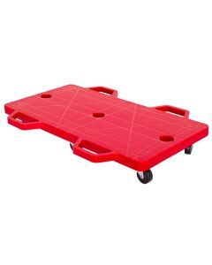 Double Scooter Board Large With Safety Handles RED 71cmx35cm
