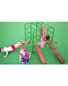 Giant Aluminium Block, Ladder and Walkboards Set 5pcs