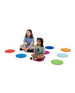 Rainbow Carpet Discs Set of 10