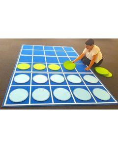 Ten Frames Carpet 3m x 2m With 20 Round Carpet Discs