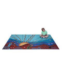 Indigenous Seasons Carpet 3m x 2m