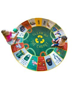 The Cleanup and Recycling Carpet Game 2m Diameter