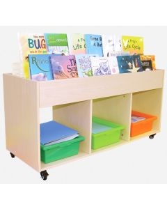 Mobile Book Browser and Storage Unit