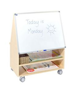 Solid Birch Ply Double Sided Big Book Display and Teacher Station