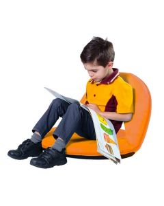 Anywhere Folding Student Chair Orange