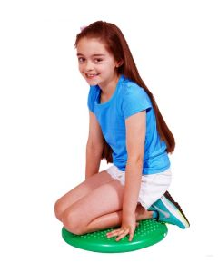 Inflatable Wobble Cushion 38cm With Hand Pump