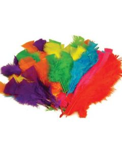 Feathers Pack Assorted Colours 60g
