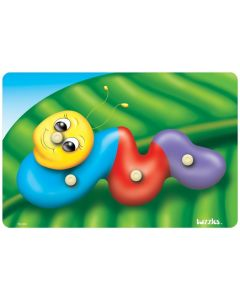 Knobbed Caterpillar Puzzle 4pcs