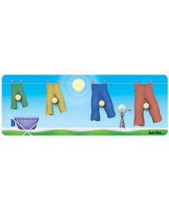Knobbed Pants Sequence Puzzle 4pcs