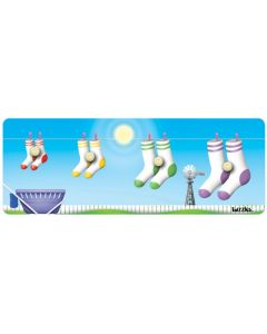 Knobbed Sock Sequence Puzzle 4pcs