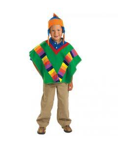 Costume Peruvian Poncho