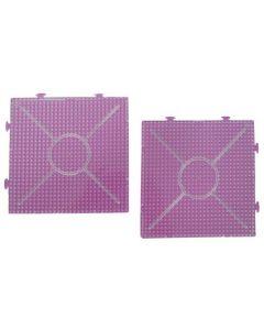 Iron On Bead Pattern Plates - Squares