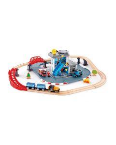 Emergency Services HQ Railway Set 36pcs