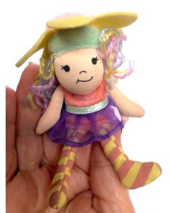 Beaneath the Leaf Fairy Finger Puppet