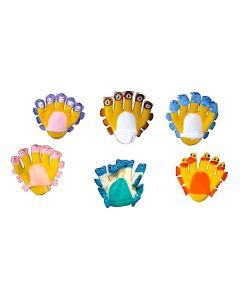 Aqua Pals Glove Puppets 6pcs