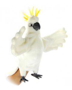 Sulphur Crested Cockatoo Full Body Puppet 43cm