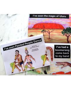 I've Seen Painted People Dance Book