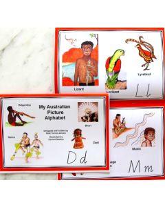 My Australian Picture Alphabet Book
