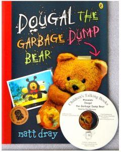 'Dougal the Garbage Dump Bear' Listening Post Set 4 Books & 1 CD