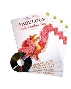 'Miss Lily's Fabulous Pink Feather Boa' Listening Post Set 4 Books & 1CD