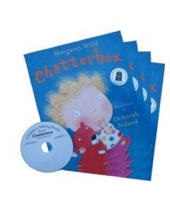 'Chatterbox' Listening Post Set 4 Books & 1CD