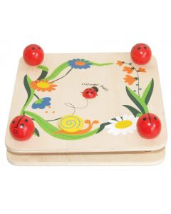 Flower Press Ladybug