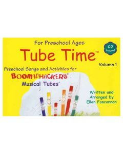 Boomwhacker Tube Time Songs & Activities Book & CD for 4-5 yrs