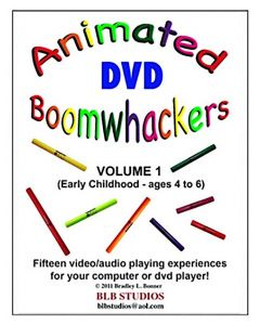 Boomwhackers Animated DVD Volume 1 for 4-6 yrs