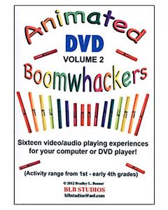Boomwhackers Animated DVD Volume 2 for 5-8 Years