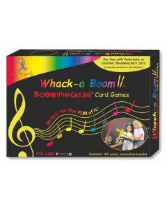 Boomwhacker Whack-a-Boom Colour Card Games 100pcs