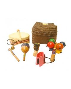Early Years Music Basket 5pcs