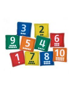 Numbers Bean Bags 10pcs