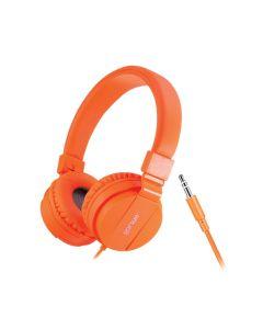 Folding Headphones Orange