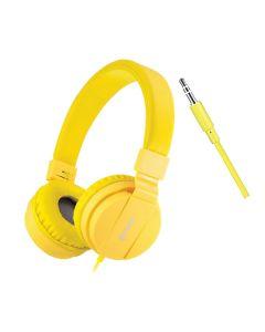 Folding Headphones Yellow