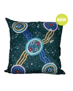Munni Dreaming Cushion With Polyester-Filled Insert