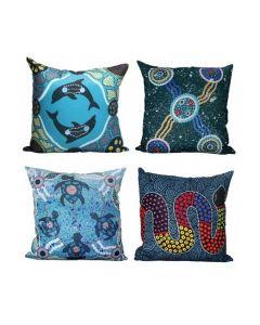 Set of 4 Indigenous Cushions