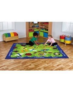 Mini Garden Beasts Carpet 2.4m x 2m