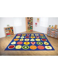 Large Fruit Placement Carpet 3m x 3m
