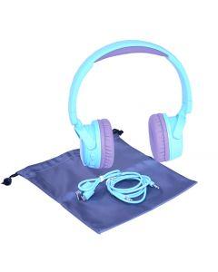 Bluetooth Headphones Light Blue