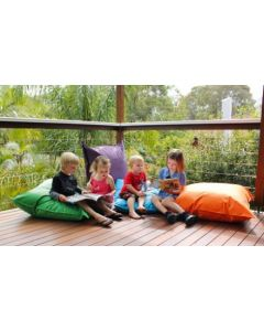Giant Outdoor Cushion ORANGE With Insert 90cm x 90cm
