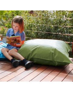 Giant Outdoor Cushion OLIVE With Insert 90cm x 90cm