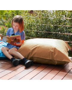 Giant Outdoor Cushion TAN With Insert 90cm x 90cm