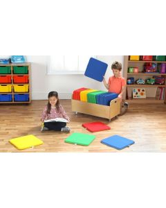 Square Cushions With Trolley 32pcs