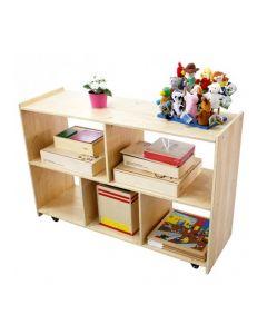 Birch Ply Open Shelf Unit