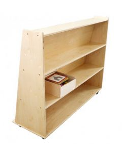 Birch Ply Sloping Book Unit
