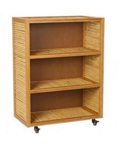 Bamboo 3 Shelf Storage Unit
