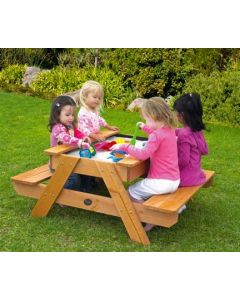 Timber Picnic & Sandplay Table